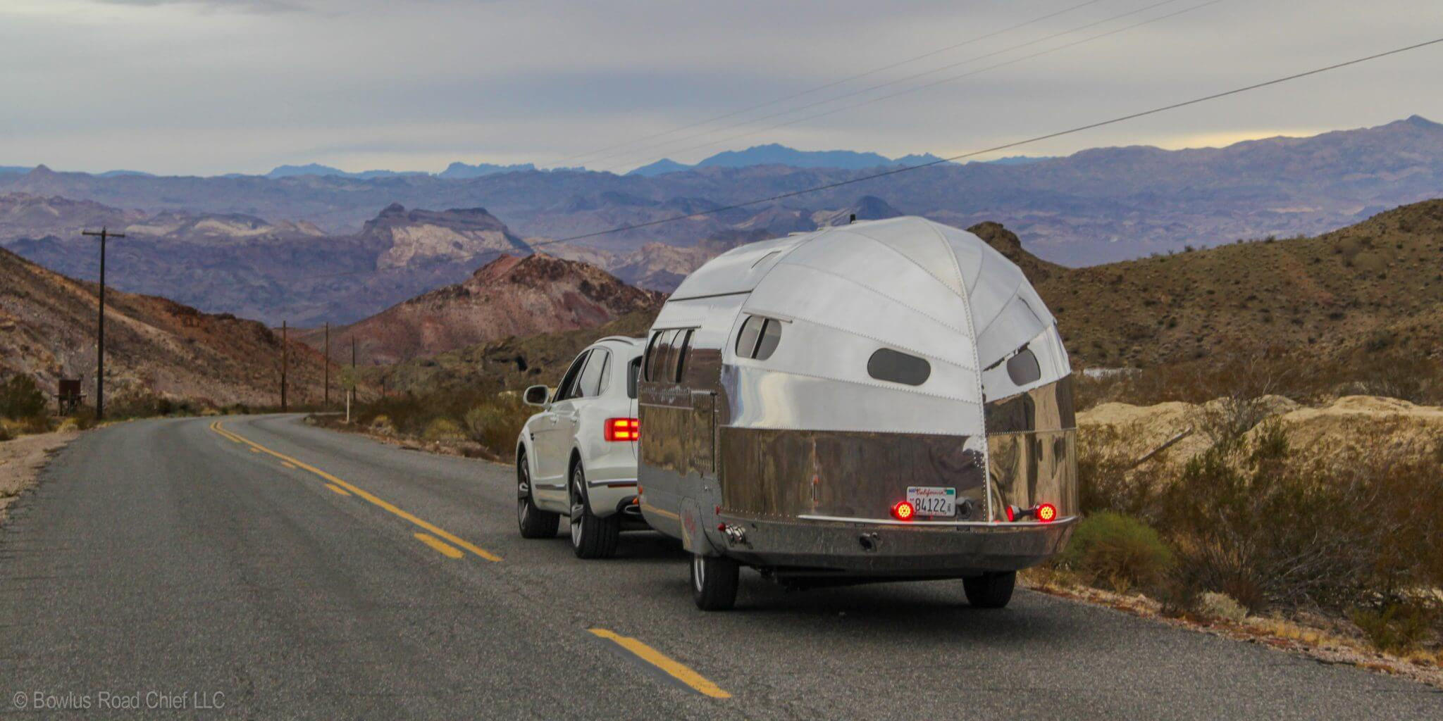 We were looking for a light, easily towable trailer and came across the Bowlus.