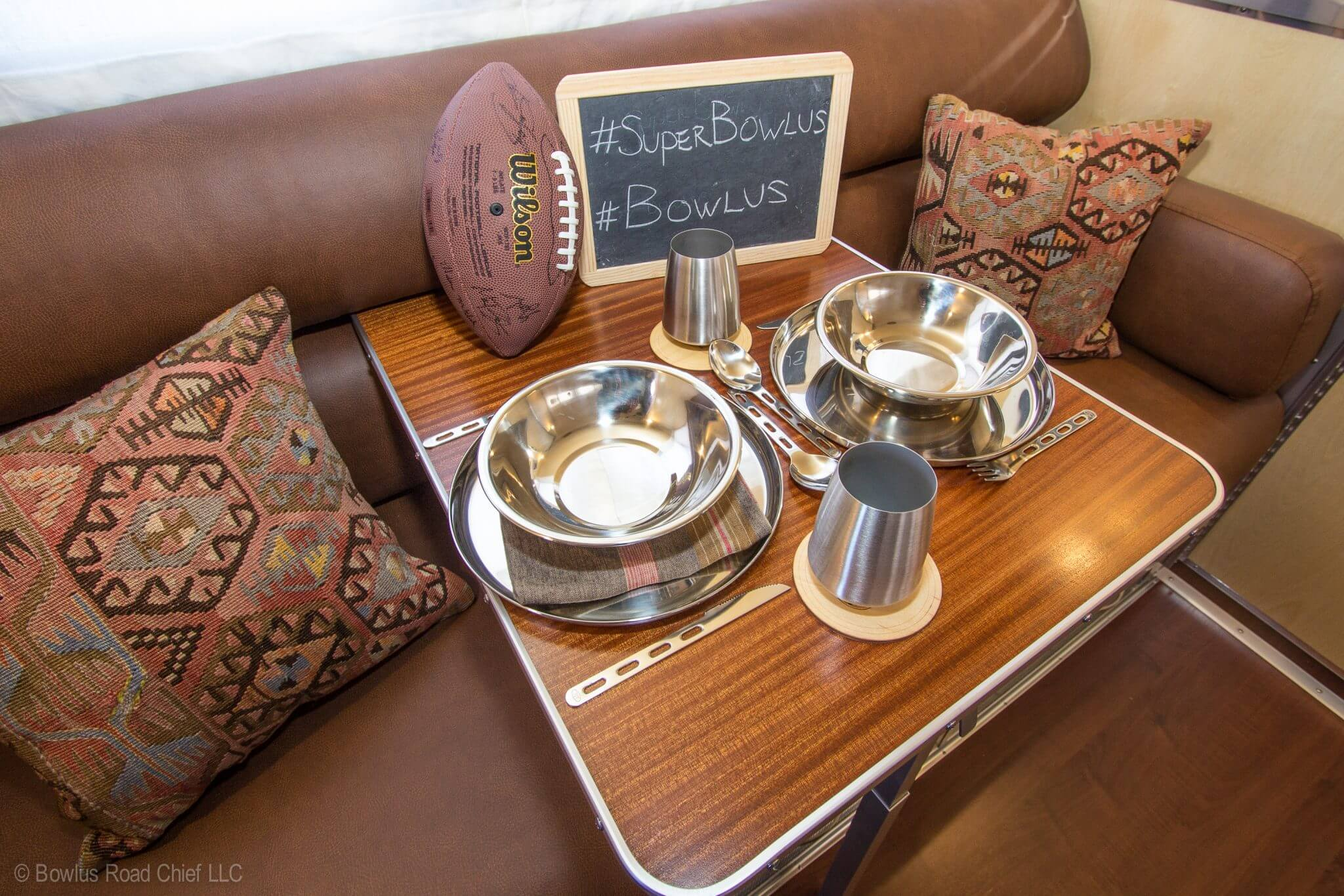 Bowlus Road Chief is featured in Super Bowl Advertising Campaign!