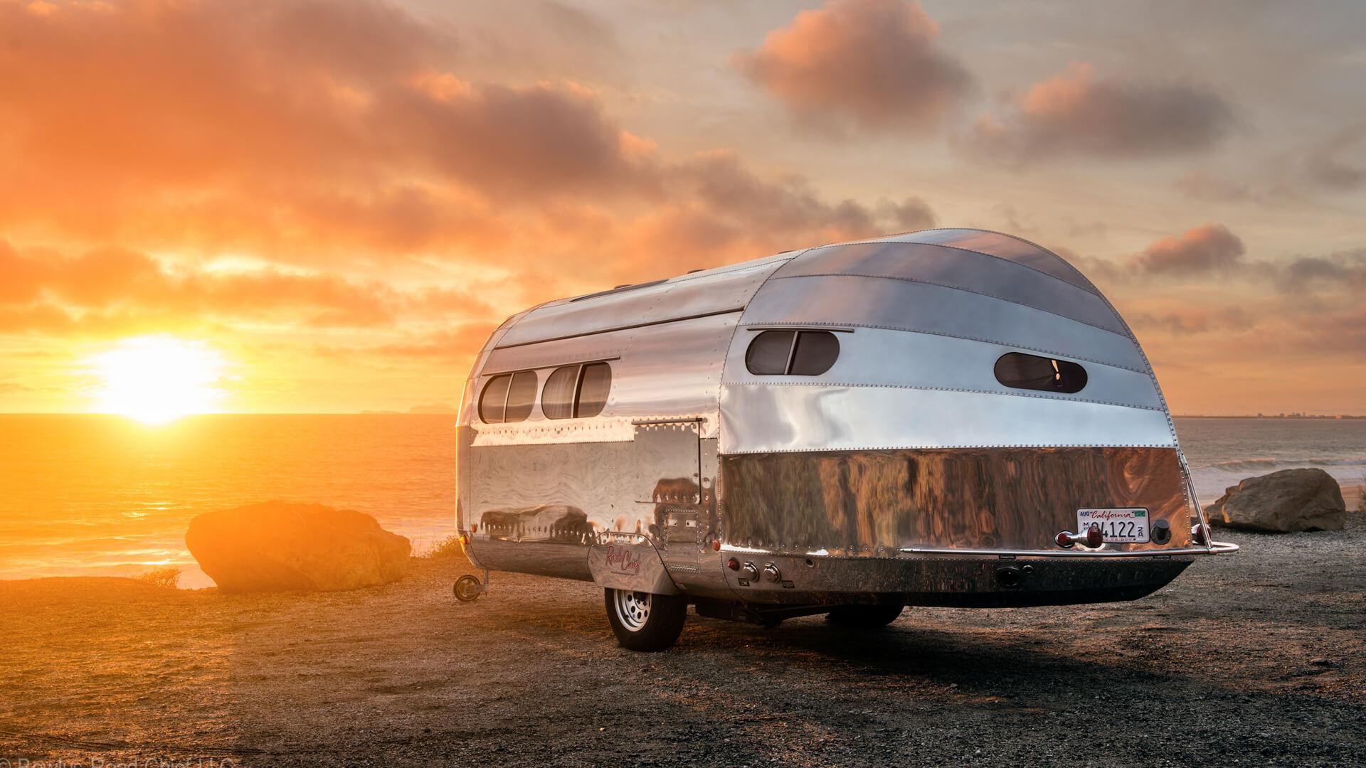 Bowlus Road Chief On The Road® - The Luxury Aluminum Travel...