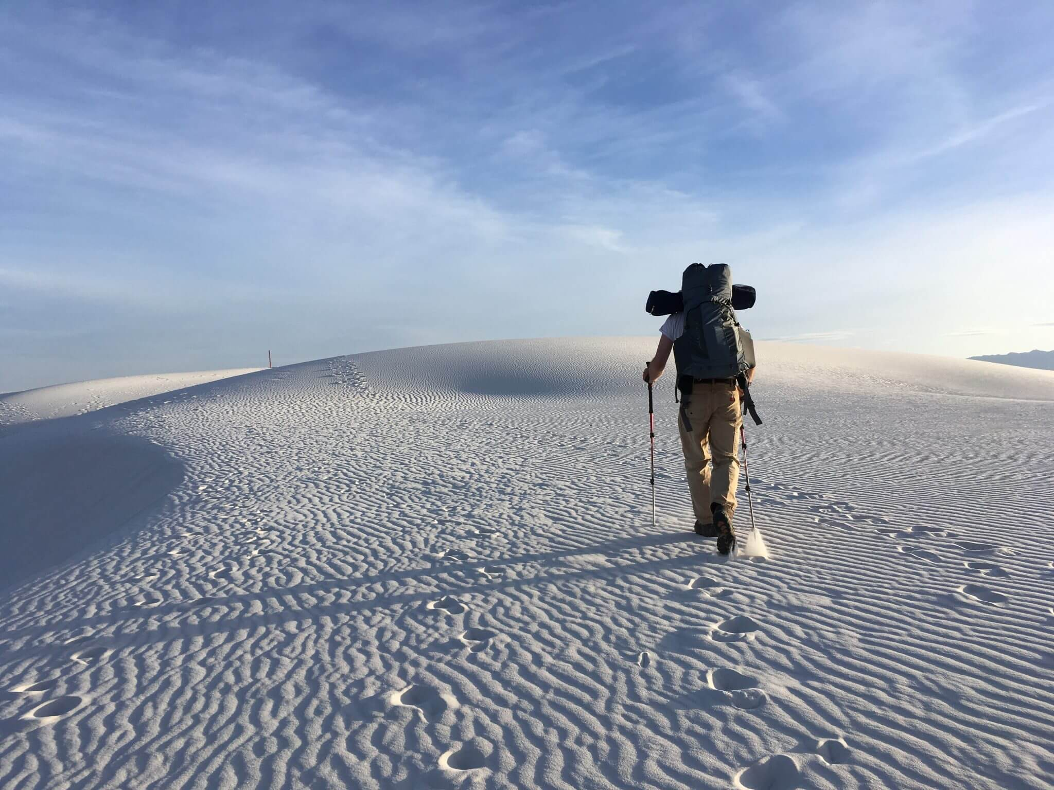 A Day Off-Grid at White Sands National Monument